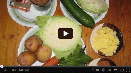 Как приготовить кабачок 9 диета